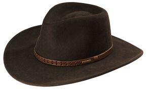 c12c9ec0f7b6c4 Stetson Sturgis Pinchfront Crushable Wool Felt Hat