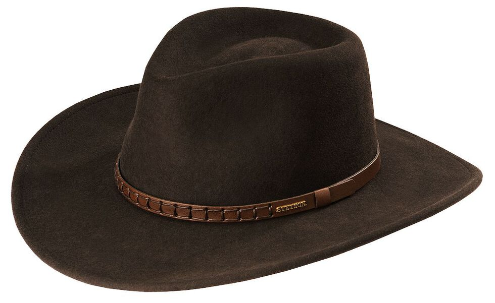 c7efea2888c Stetson Sturgis Pinchfront Crushable Wool Felt Hat - Country Outfitter