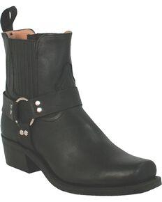 Boulet Men's Motorcycle Harness Boots - Square Toe, Black, hi-res