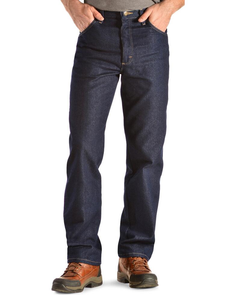 Wrangler Rugged Wear Stretch Regular Fit Jeans - Big , Indigo, hi-res