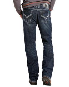Rock & Roll Denim Double Barrel Relaxed Fit Flame Resistant Jeans - Boot Cut , Indigo, hi-res