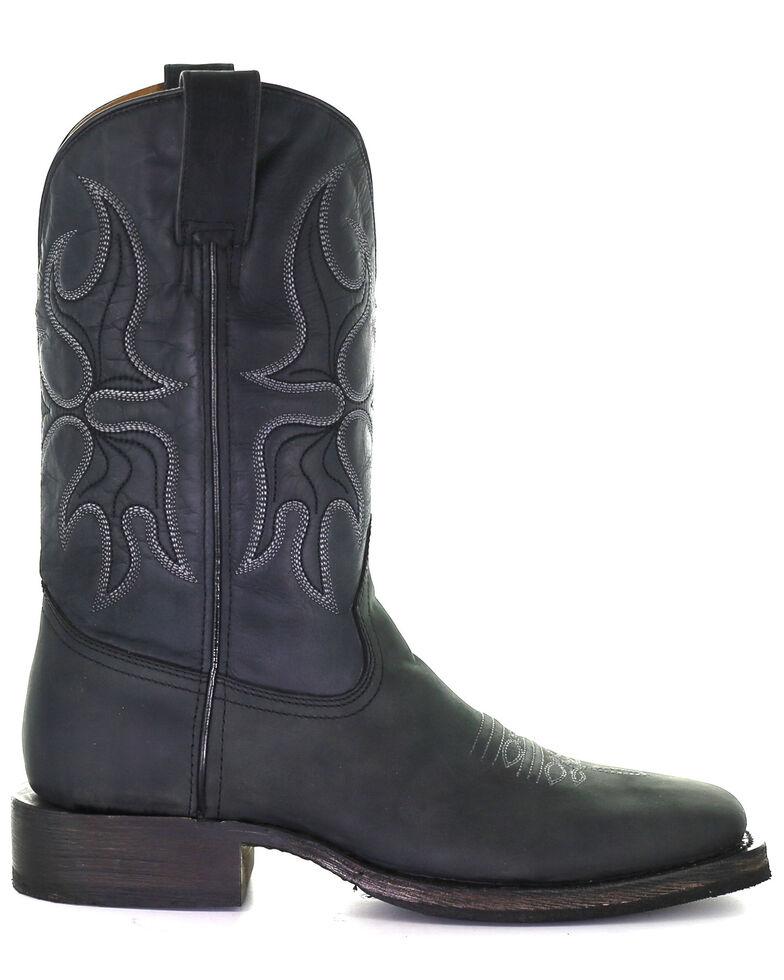 Corral Men's Black Rodeo Western Boots - Square Toe, Black, hi-res