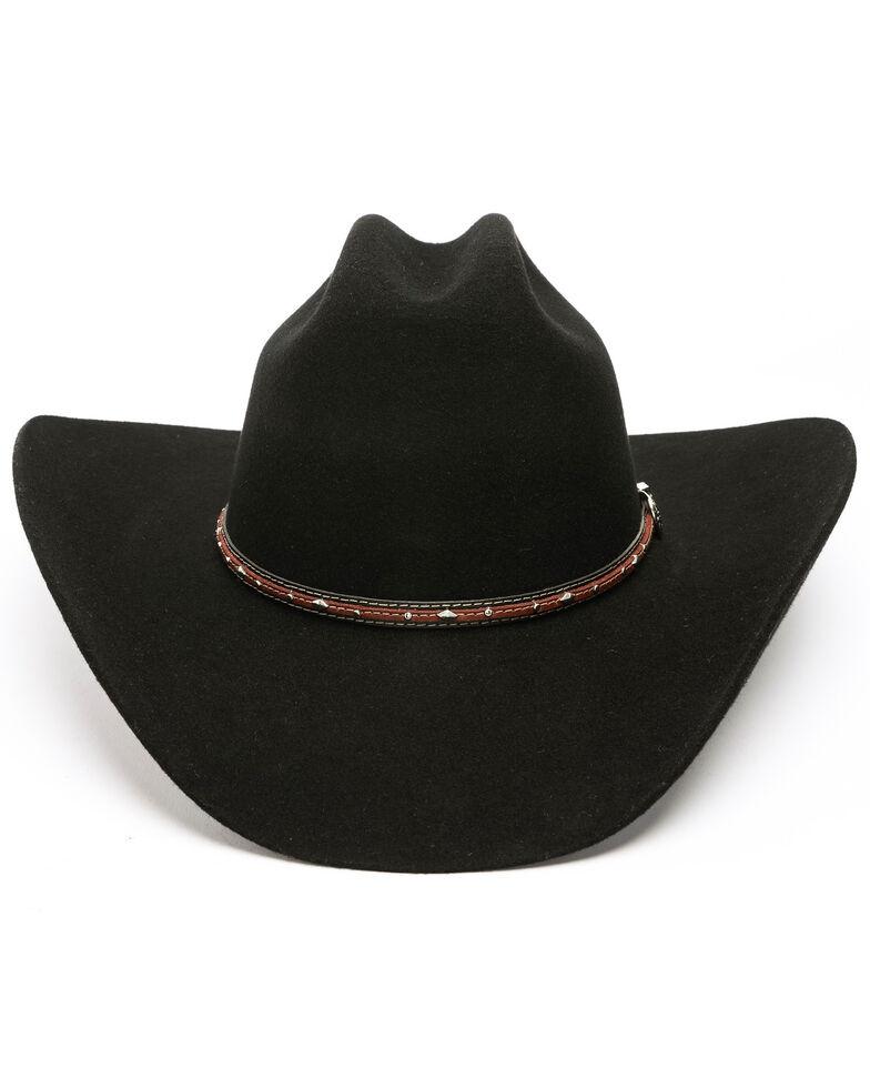 Cody James Boys' Range Rider Cowboy Hat , Black, hi-res