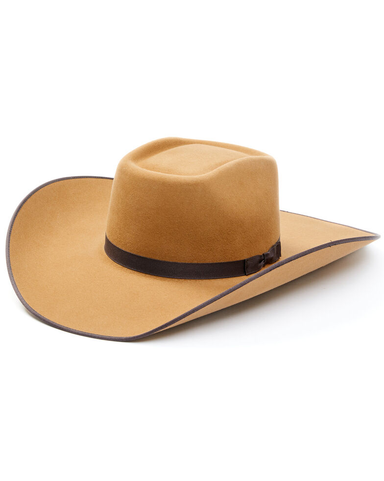 Cody James Men's Sand 5X Fur Felt Western Hat , Sand, hi-res