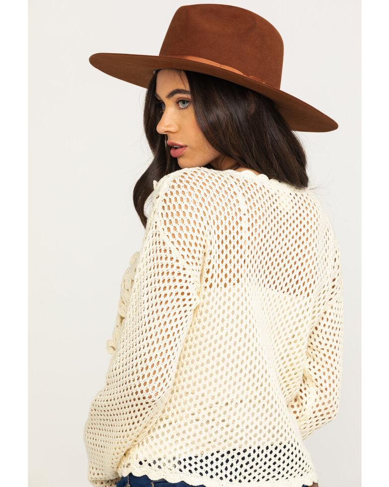 White Crow Women's Ivory Prado Sweater, Ivory, hi-res