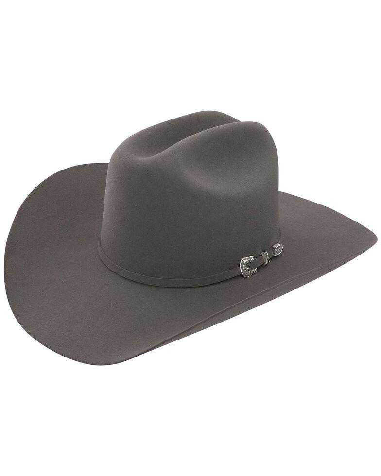 Stetson Men's 6X Skyline Granite Fur Felt Cowboy Hat, Granite, hi-res