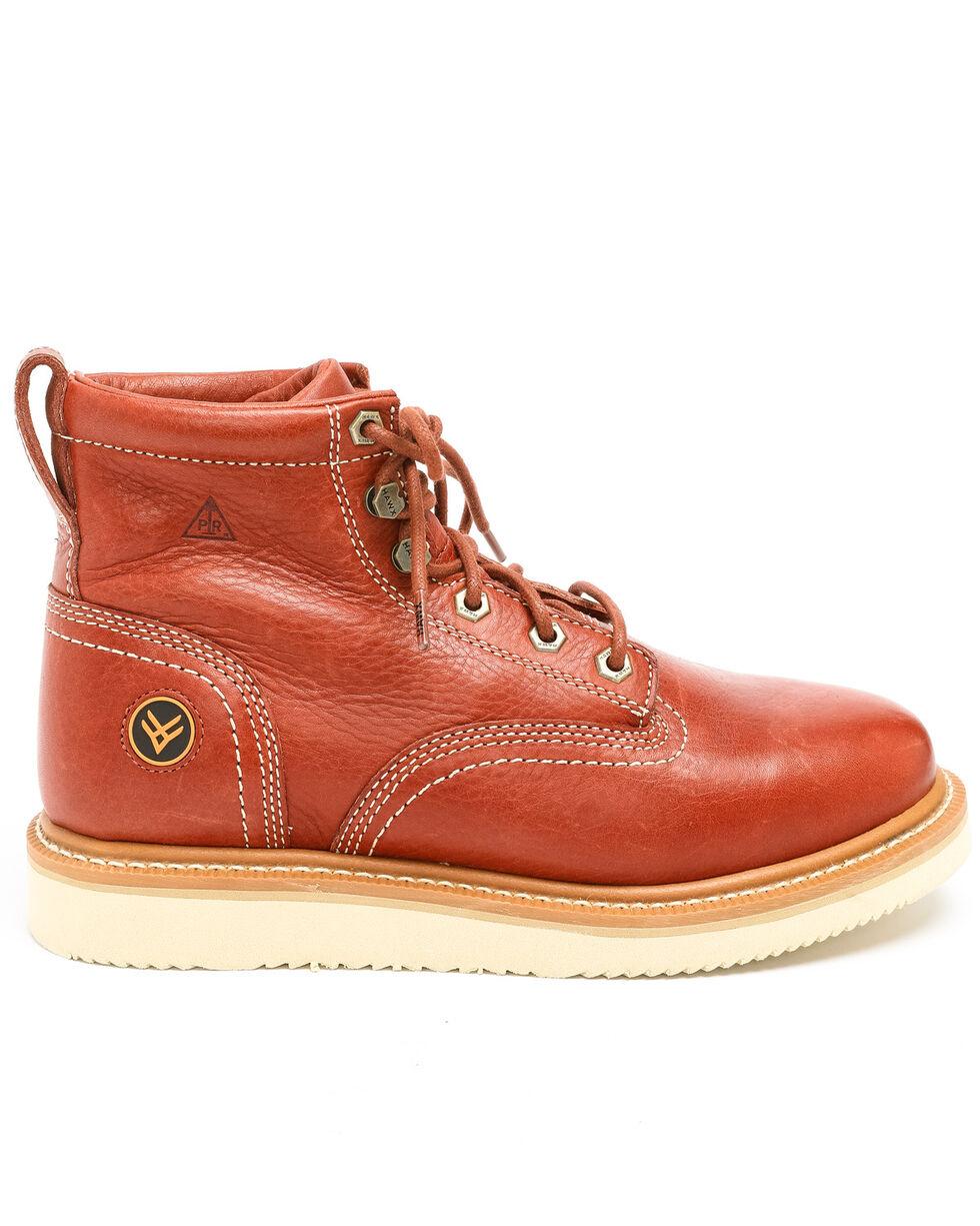 Hawx® Men's Grade Wedge Work Boots - Composite Toe, Red, hi-res
