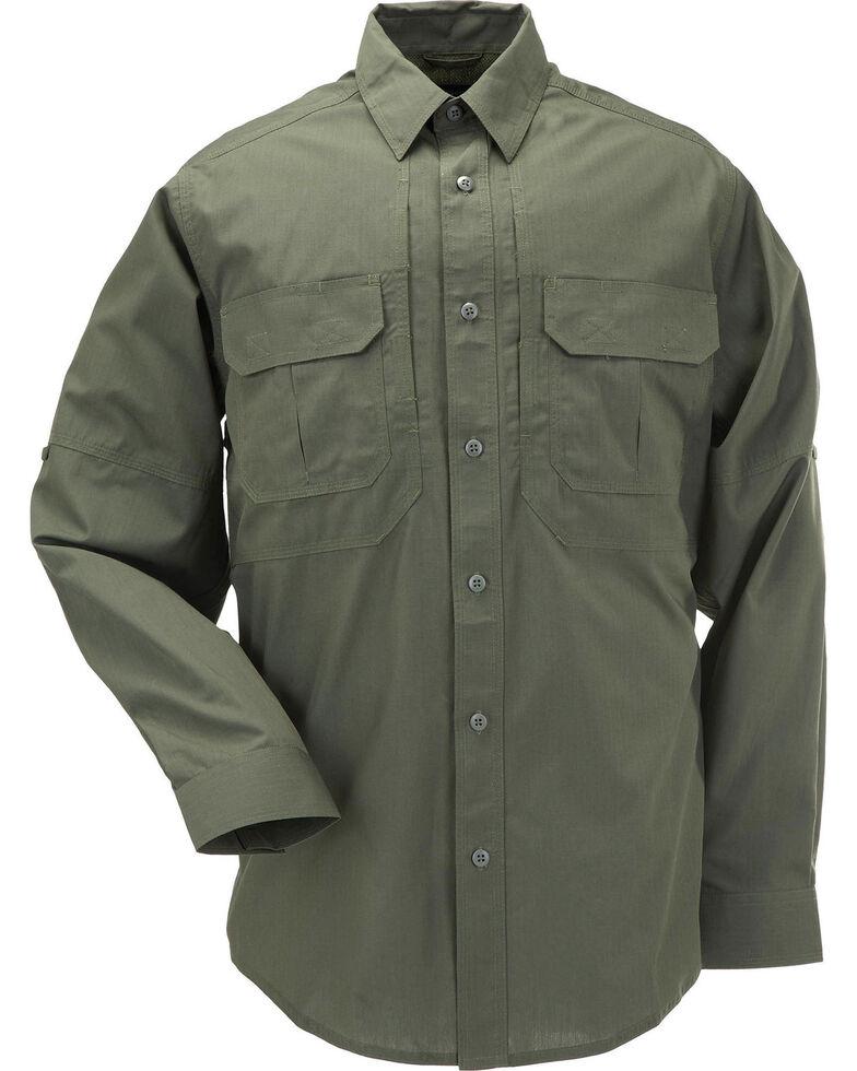 5.11 Tactical Taclite Pro Long Sleeve Shirt - 3XL, Green, hi-res