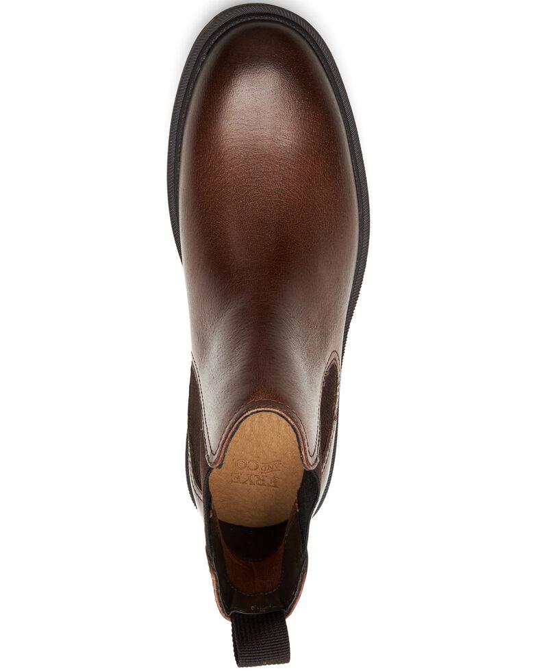 Frye Men's Jackson Chelsea Boots - Round Toe, Dark Brown, hi-res