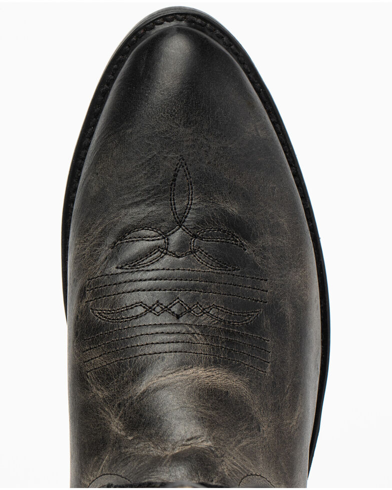 Cody James Men's Justified Western Boots - Round Toe, Black, hi-res