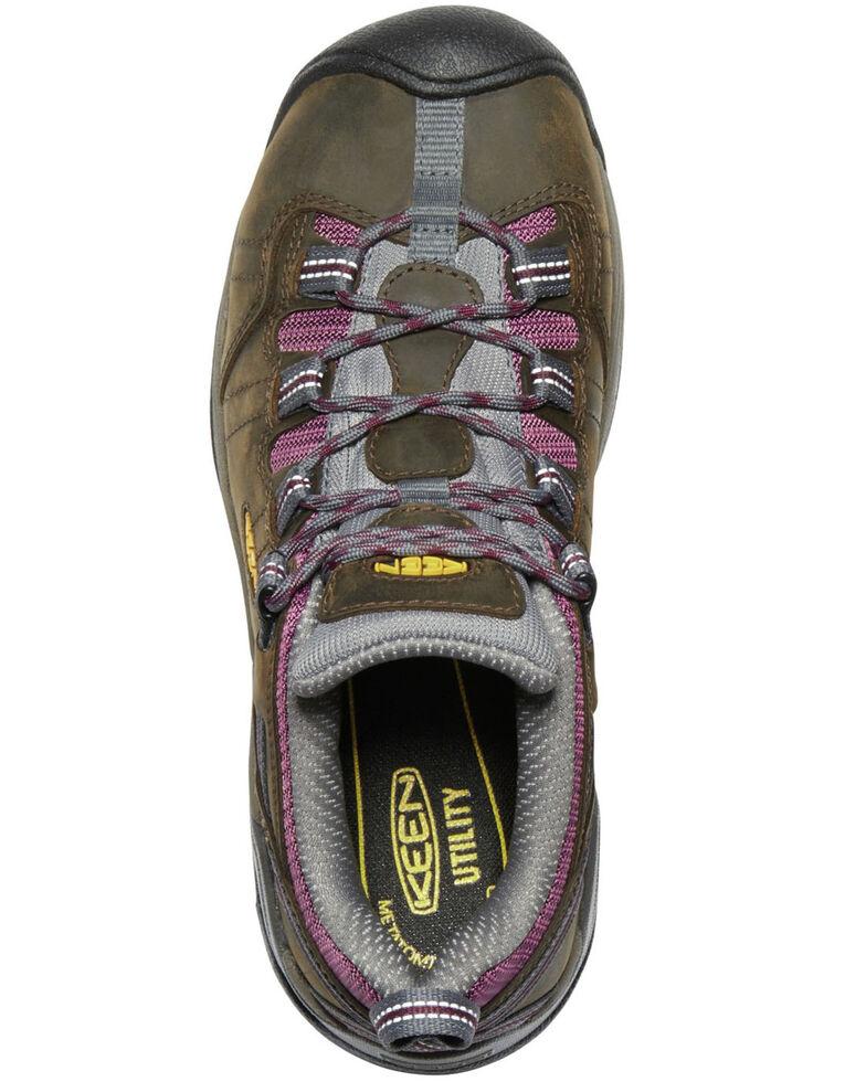 Keen Women's Brown Detroit XT Waterproof Work Boots - Steel Toe, Brown, hi-res
