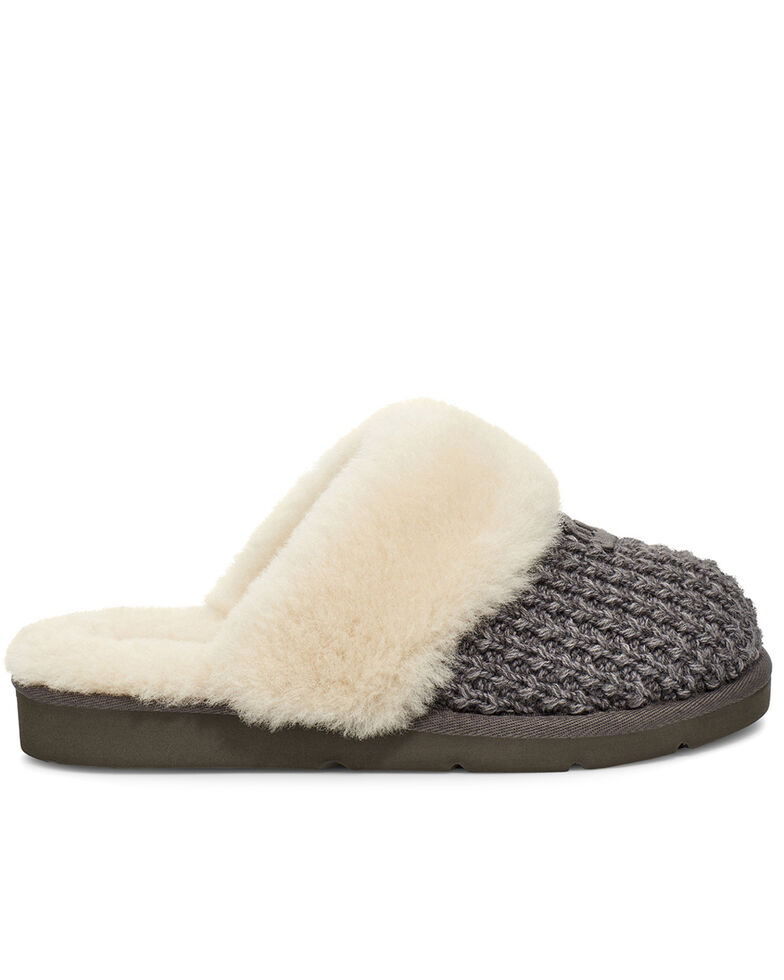 UGG Women's Charcoal Cozy Slippers, Charcoal, hi-res