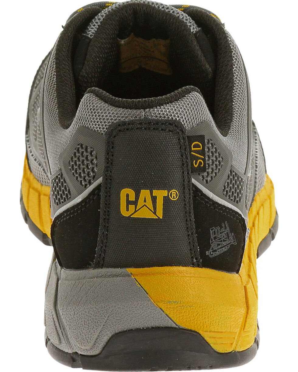 Caterpillar Men's Grey Streamline ESD Work Shoes - Composite Toe , Grey, hi-res