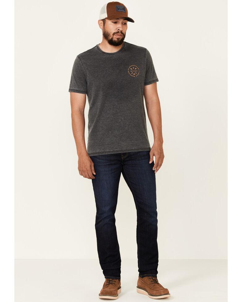 Flag & Anthem Men's Charcoal Forest Graphic Short Sleeve T-Shirt , Charcoal, hi-res
