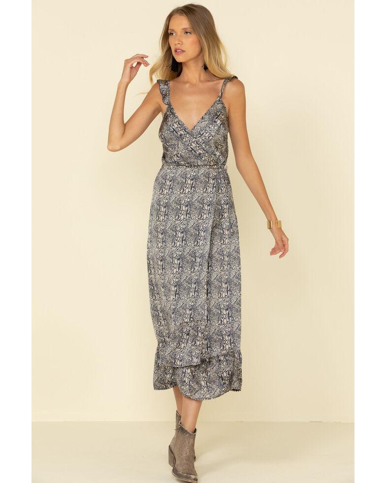 Lunachix Women's Snake Print Maxi Dress, Python, hi-res