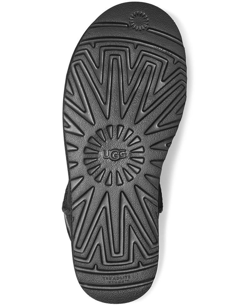 UGG Women's Mini Classic Boots - Round Toe, Black, hi-res