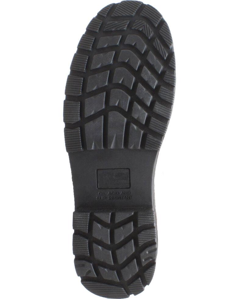 """AdTec Men's 8"""" Waterproof Brown Leather Work Boots - Composite Toe , Brown, hi-res"""