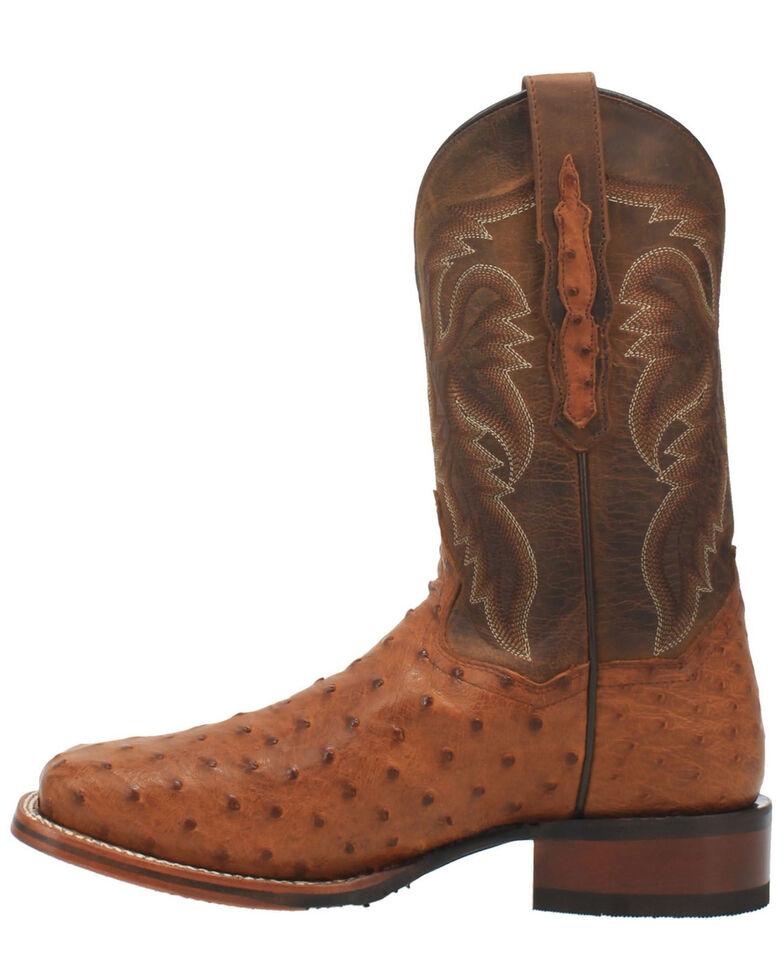 Dan Post Men's Brown Alamosa Western Boots - Wide Square Toe, Brown, hi-res