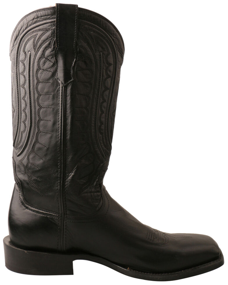 Twisted X Men's Classic Rancher Western Boots - Square Toe, Chocolate, hi-res