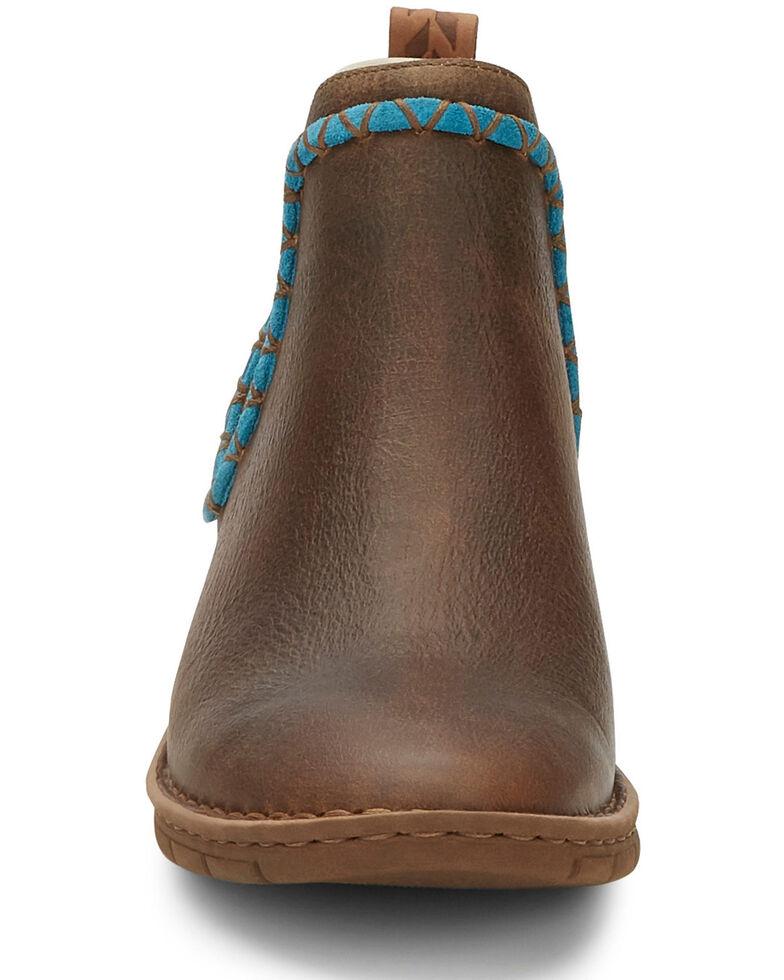 Tony Lama Women's Mina Tan Western Boots - Snip Toe, Tan, hi-res