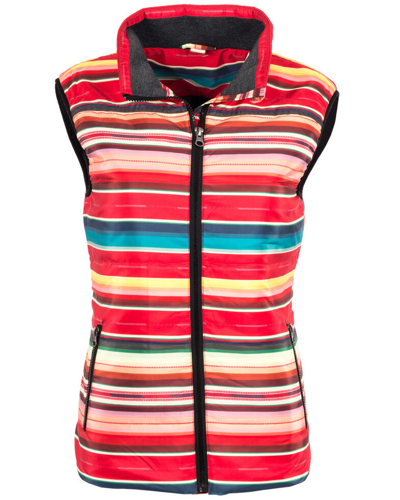 STS Ranchwear Women's Sealy Serape Micro Puff Vest , , hi-res