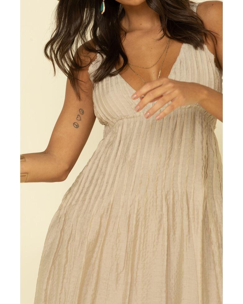 Free People Women's Pintuck Maxi Dress, Sand, hi-res