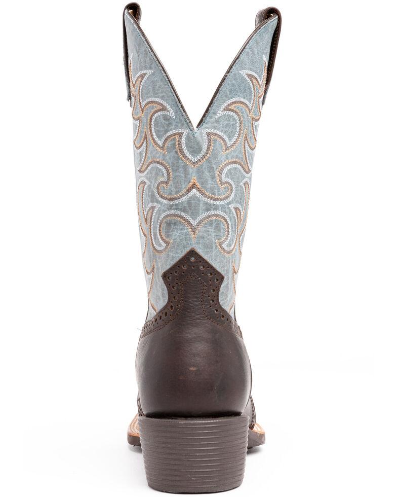 Cody James Men's Austell Western Boots - Narrow Square Toe, Black, hi-res