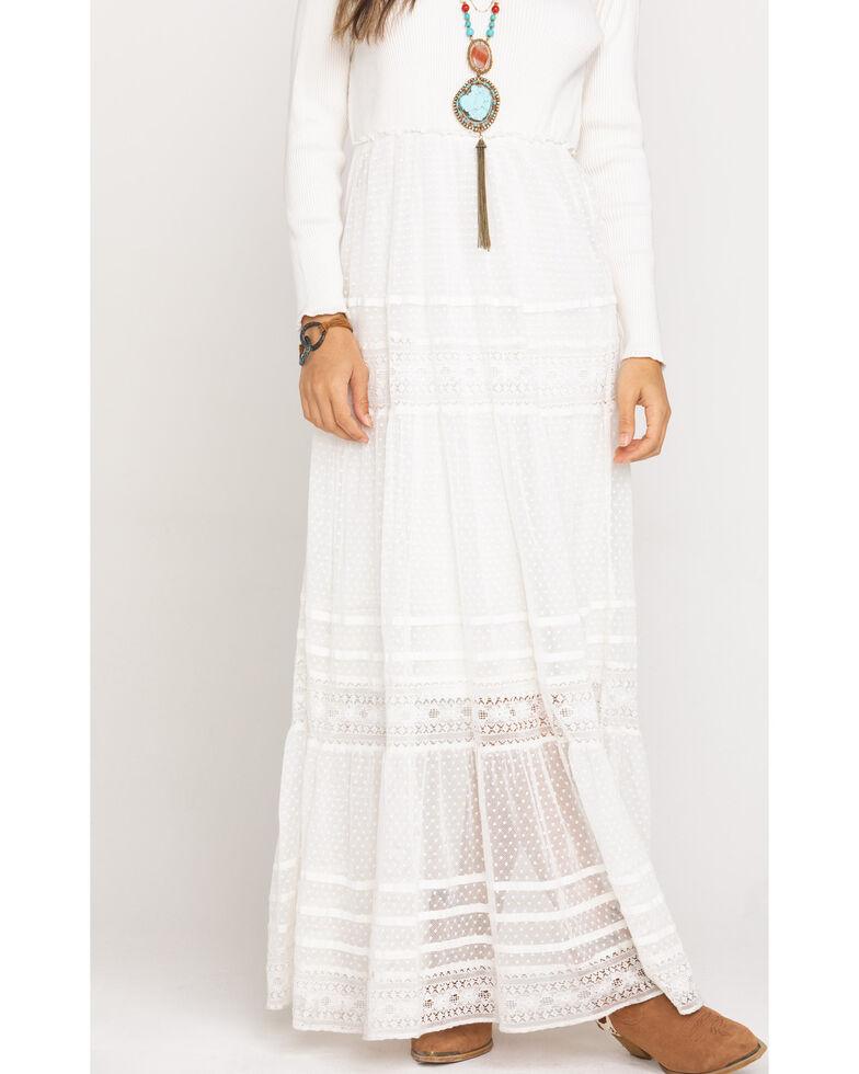Free People Women's Earth Angel Maxi Dress, Ivory, hi-res