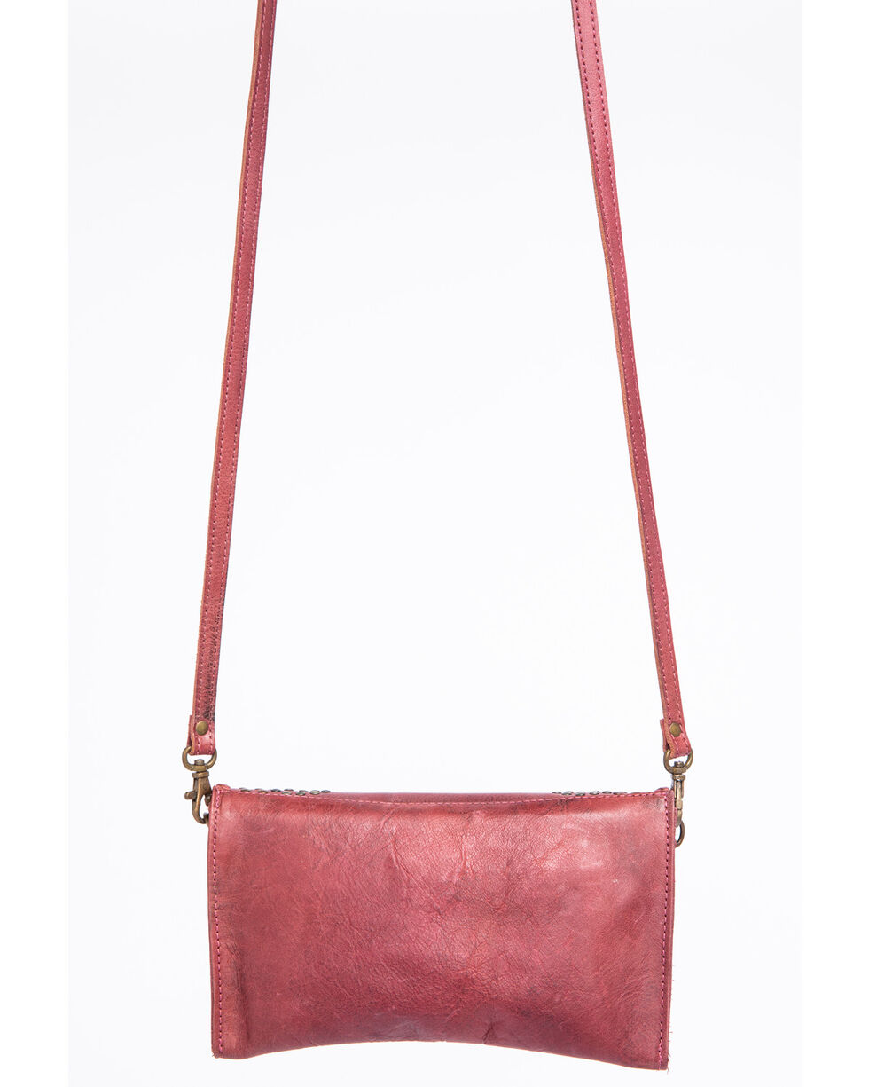 Idyllwind Women's Beamin' Bliss Stud Crossbody, Red, hi-res