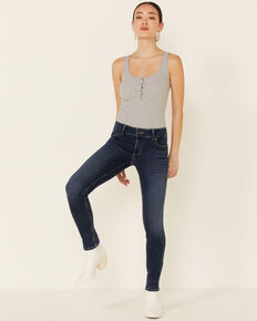 Wrangler Women's Kacey Essential Skinny Jeans, Blue, hi-res