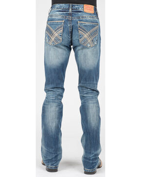 Stetson Men's Rocks Fit Jeans - Boot Cut, Blue, hi-res