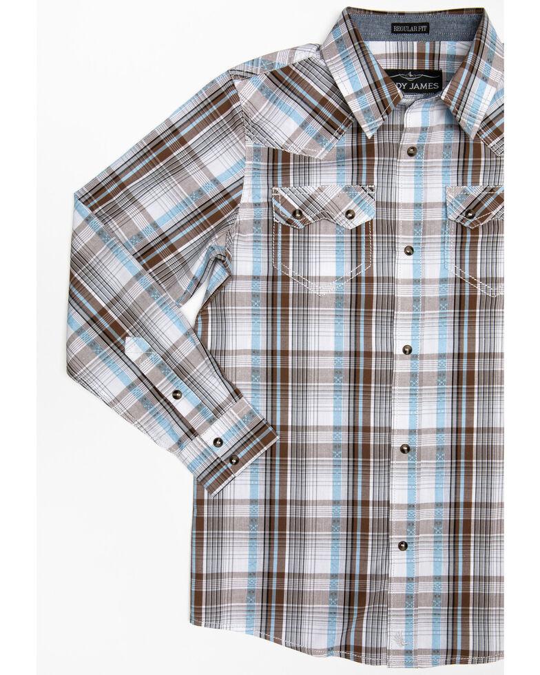 Cody James Toddler Boys' Hollister Ranch Multi Plaid Long Sleeve Western Shirt  , Multi, hi-res