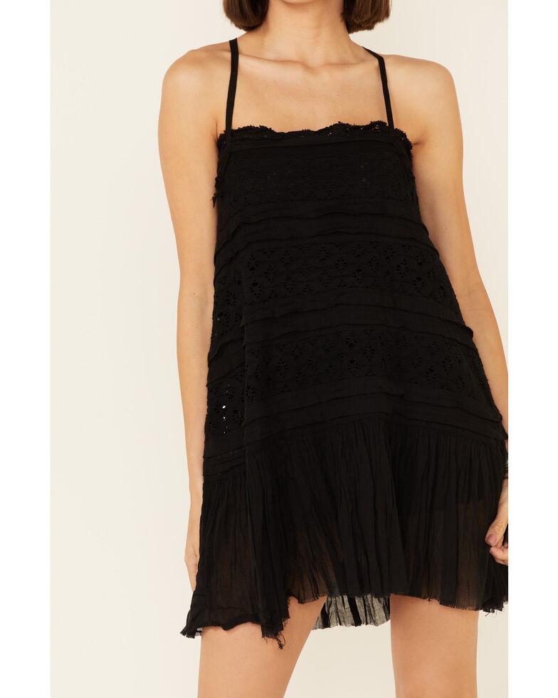 Free People Women's Shailee Slip Dress, Black, hi-res