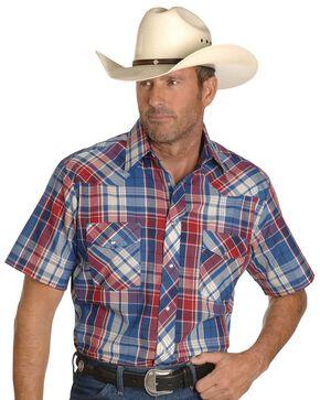 Wrangler Assorted Classic Shirts - Big & Tall, Plaid, hi-res