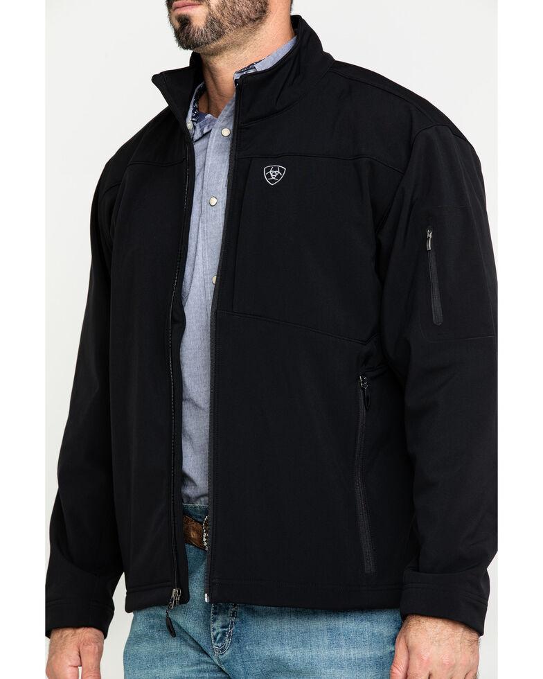 Ariat Men's Vernon 2.0 Softshell Jacket - Big & Tall , Black, hi-res