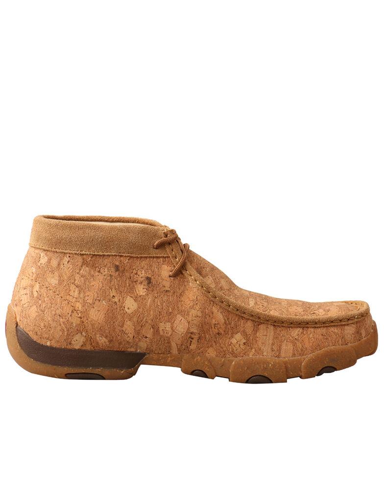 Twisted X Men's Chukka Driving Shoes - Moc Toe, Tan, hi-res