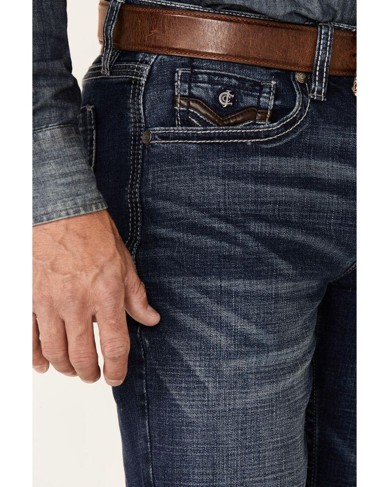Cody James Core Men's Cayuse Med Stretch Slim Straight Jeans , Blue, hi-res