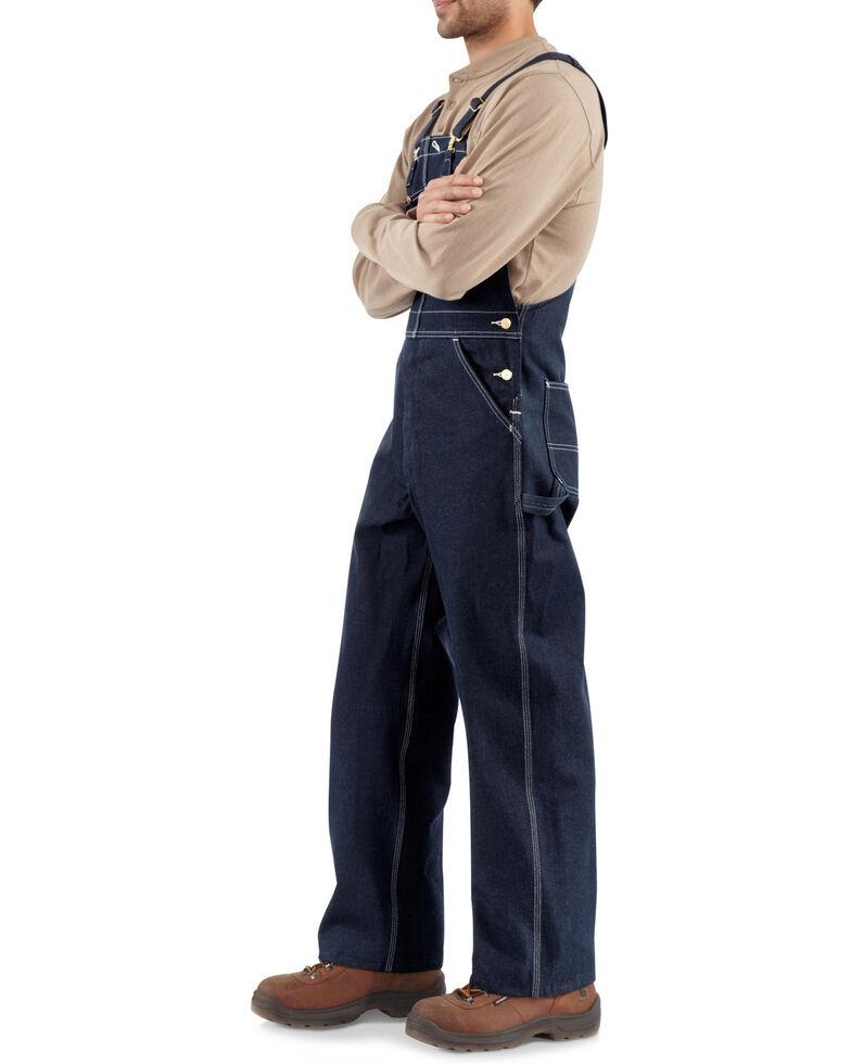 Carhartt Unlined Denim Bib Work Overalls - Big & Tall, Denim, hi-res