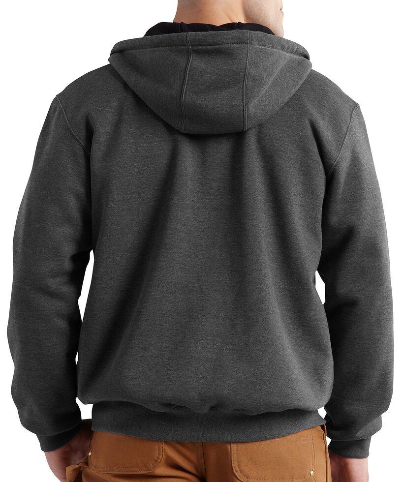 Carhartt Thermal Lined Hooded Zip Jacket - Big & Tall, Grey, hi-res
