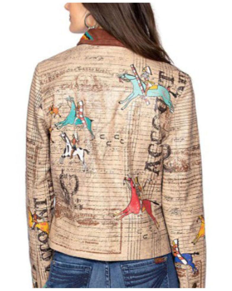 Double D Ranch Women's Navajo Accounting Jacket , Tan, hi-res