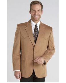 Circle S Microsuede Sport Coat - Reg, Tall, Camel, hi-res