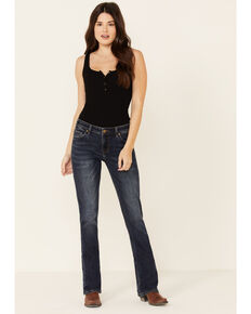 Panhandle Women's Mid-Rise Bootcut Jeans, Indigo, hi-res