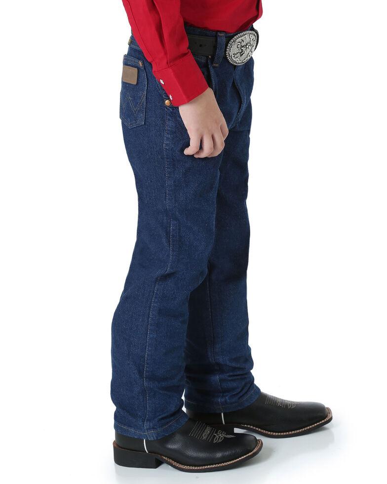 Wrangler Jeans - Cowboy Cut - 4-7 Regular/Slim, Indigo, hi-res