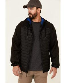Wrangler ATG Men's All-Terrain Green Outrider Zip-Front Hooded Jacket , Green, hi-res