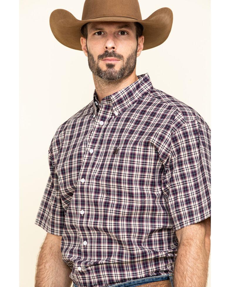 Cinch Men's Multi Plaid Short Sleeve Western Shirt , Multi, hi-res