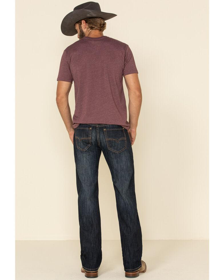 Rock & Roll Denim Men's Dark Pistol Regular Straight Jeans , Indigo, hi-res