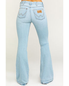 Wrangler Modern Women's Heritage Tencel Flare Jeans, Light Blue, hi-res