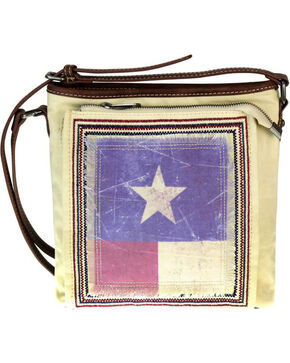 Montana West Women's Texas Pride Conceal Carry Messenger Bag , Beige/khaki, hi-res