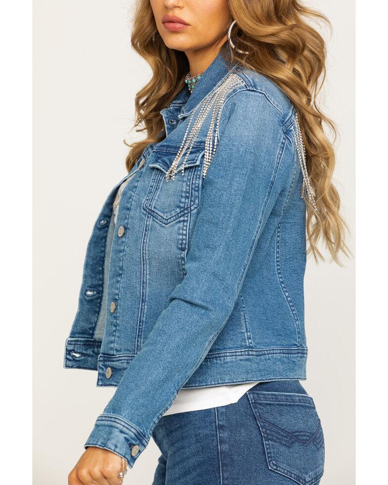 Idyllwind Women's Dolly's Denim Jacket, Blue, hi-res