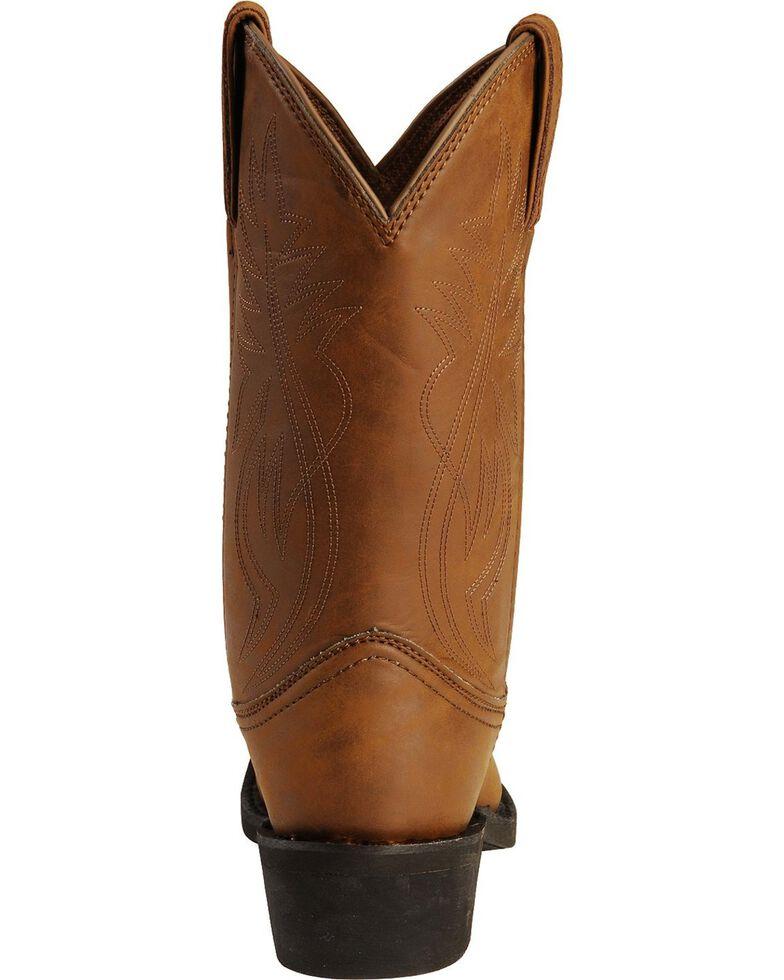 Justin Men's Butch Farm & Ranch Cowboy Work Boots - Medium Toe, Distressed, hi-res